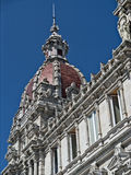 Câmara municipal, La Coruna Foto de Stock