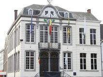 Câmara municipal - Lokeren - Bélgica Fotos de Stock Royalty Free