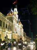 A câmara municipal na cidade de Saigon imagem de stock royalty free