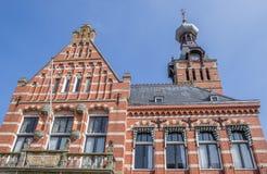 Câmara municipal no centro de Winschoten Fotos de Stock