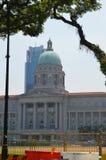 Câmara municipal no Padang, Singapura Foto de Stock