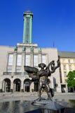 Câmara municipal nova da cidade de Ostrava Foto de Stock