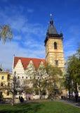 A câmara municipal nova de Praga Foto de Stock Royalty Free