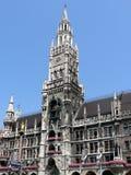 Câmara municipal nova - Munich imagens de stock