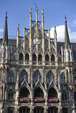 Câmara municipal nova, Munich, Baviera, Sul-Alemanha Fotos de Stock Royalty Free