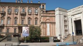 Câmara municipal (Palazzo Mezzabarba) no estilo dos rococós em Pavia, Itália filme