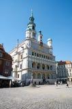 Câmara municipal poznan fotografia de stock royalty free