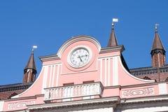 Câmara municipal rostock Fotos de Stock Royalty Free