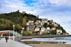 Câmara municipal, San Sebastian, Espanha foto de stock royalty free