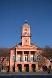 Câmara municipal, Sombor, Sérvia imagem de stock