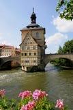 Câmara municipal velha Bamberga Fotos de Stock