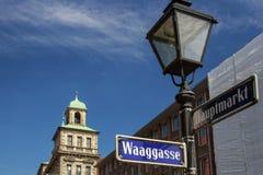 Câmara municipal velha de Nuremberg, Alemanha, 2015 Foto de Stock