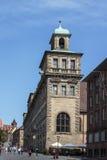 Câmara municipal velha de Nuremberg, Alemanha, 2015 Fotos de Stock Royalty Free