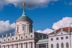 Câmara municipal velha de Potsdam fotos de stock