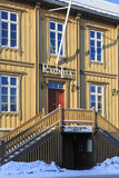 Câmara municipal velha de Tromso Fotos de Stock