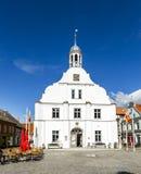 Câmara municipal velha de Wolgast fotos de stock royalty free
