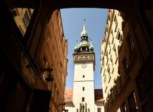 Câmara municipal velha em Brno, república checa Foto de Stock