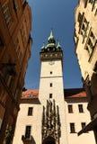 Câmara municipal velha em Brno, república checa Imagem de Stock