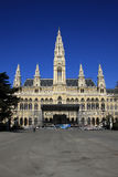 Câmara municipal, Viena, Áustria Fotos de Stock Royalty Free