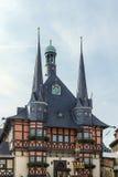 Câmara municipal Wernigerode, Germanl Imagem de Stock Royalty Free
