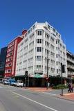Câmaras cívicas que constroem, Wellington, Nova Zelândia imagem de stock royalty free