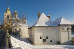 Câmaras da antiga jarda inglesa da corte em Moscovo Fotografia de Stock