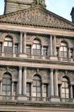 Câmaras da cidade em George Square, Glasgow, Escócia Fotos de Stock Royalty Free