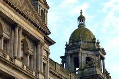 Câmaras da cidade em George Square, Glasgow, Escócia Imagens de Stock Royalty Free