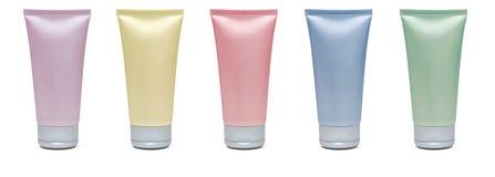 Câmaras de ar cosméticas em branco Fotos de Stock Royalty Free