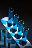 Câmaras de ar da análise laboratorial no laboratório de pesquisa da ciência Imagem de Stock