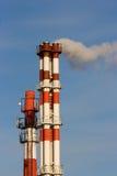 Câmaras de ar da central energética do gás e do petróleo. Imagem de Stock Royalty Free