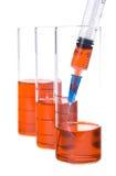 Câmaras de ar e seringa Foto de Stock Royalty Free