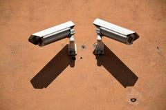 Câmaras de segurança Foto de Stock
