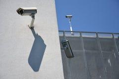 Câmaras de segurança Foto de Stock Royalty Free