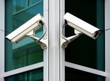 Câmaras de segurança Imagem de Stock
