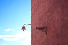 Câmaras de segurança camufladas Fotografia de Stock Royalty Free