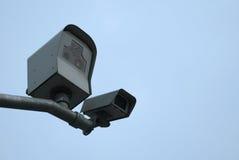 Câmaras de vigilância Fotografia de Stock Royalty Free