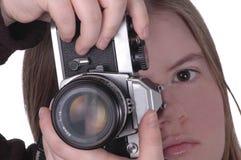 Câmera 3 Foto de Stock
