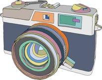Câmera ilustração do vetor