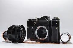 Câmera análoga Fotos de Stock