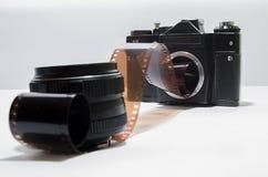 Câmera análoga Imagem de Stock