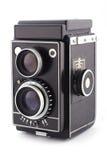 Câmera análoga do vintage Fotografia de Stock Royalty Free