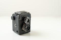 Câmera análoga velha Fotografia de Stock