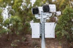 Câmera australiana da velocidade/câmera da segurança Fotografia de Stock Royalty Free