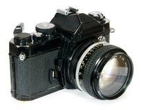 Câmera clássica da película SLR do vintage 35mm foto de stock