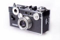 Câmera clássica do Rangefinder da película Foto de Stock Royalty Free