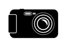 Câmera compacta Imagens de Stock Royalty Free