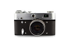 Câmera compacta do vintage Fotos de Stock Royalty Free