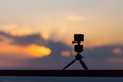 Câmera da ação fotografia de stock