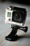 Câmera da ação de GoPro Foto de Stock